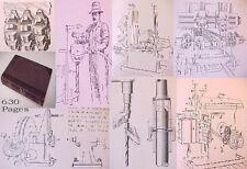 1905 PSS Drill.Bor.MILLING Mch.Work GEAR Ct.Iron;METAL Machinery lathe MACHINING