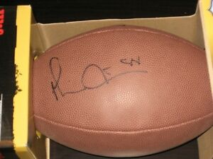 Michael Irvin Autgraphed NFL Football