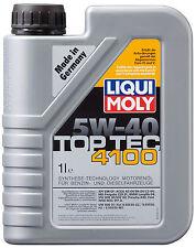 Olio Motore LIQUI MOLY TopTech 4100 5w40 confezione da 1 Lt