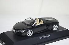 Audi R8 Spyder phantomschwarz 1 of 1000 1:43 Schuco neu & OVP 7392