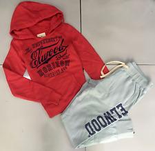 Elwood Womens Tracksuit Set Casual Sport Track Pants Fleece Hoodie Jumper XS/8
