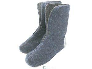 LaCrosse Men's 9mm  Wool Felt Polypropylene Replacement Boot Liners BLACK