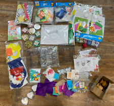 Mixed Craft Lot Children Christmas Easter Stocking Decoration Sewing Baker Ross