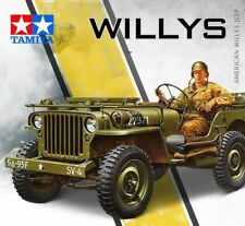 American US Jeep Willys MB 1:35 Scale 1:4-ton 4x4 Truck Model Kit Tamiya 35219