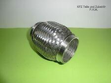 Auspuff Flexrohr 60 mm Ø x 115 mm Hosenrohr  universal