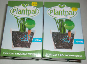 Plantpal Aqua Watering Bulbs For Everyday & Holiday 380ml Set of 2 Water System