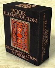 BOOK ILLUSTRATION, ORNAMENTATION & DESIGN 18 Vintage Books + Hi-Res Images on CD