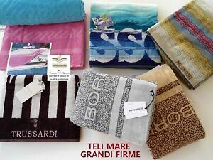 Teli mare firmati vari modelli TUSSARDI , BLUMARINE , MISSONI , BORBONESE ECC.