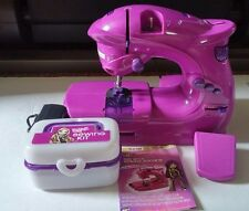 BRATZ Girls Purple Sewing Machine, and accessories Design Your Own Sew Styling