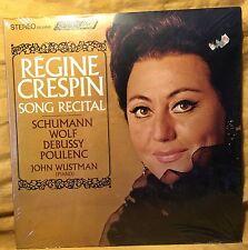 Mint 1967 REGINE CRESPIN RECITAL London Records OS26043 Schumann/Wolf/Debussy +