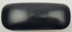 COACH New Authentic Black Sunglasses Hard Case & Pouch =-=