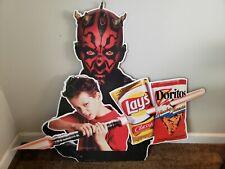 "1999 Lays -Doritos-   Star Wars  Display Sign  43"" X 34"""