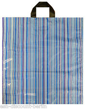Neuf 50 sacs en plastique sacs en CODE BARRE BANDES LOOK 48x45cm neutre