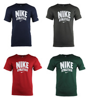 Men's Nike Active Shirt Crewneck Athletic Fit Graphic T Shirt Nike Logo Shirt