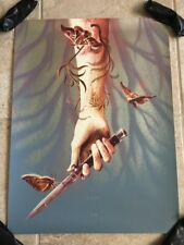 THE LAST OF US Poster Art Print 39/350 Mondo Kevin Tong Playstation Outbreak Day