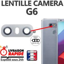 Vitre arrière caméra LG G6  Lentille en verre appareil photo Lens back rear GRIS