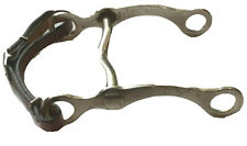 Western Horse Bit Low Port Curb 5.5 inches With Curb Chin Strap
