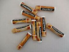 10 COUNT CHAPSTICK BRAND LIP BALM LIMITED EDITION CARAMEL CREME SEALED - EL 148