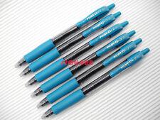 6 x Pilot LG-20F G-2 0.7mm Fine Encre Gel Rollerball Gel Ink Pens, Peacock Green