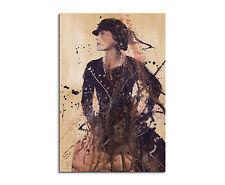 90x60cm Paul Sinus Splash Art Gemälde Kunstbild Coco CHANEL