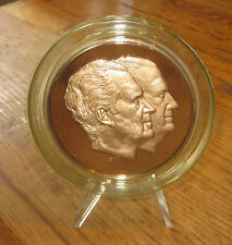 1973 Richard Nixon/Spiro Agnew Inaugural Medal-Solid Bronze Proof