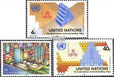 VN - Niew York 637-639 postfris 1992 VN-Bouwen