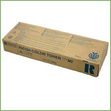 Genuine Ricoh 885324 Aficio 1224C type M2 toner cartridge - cyan & warranty