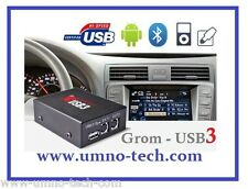 GROM BMW USB3 MP3 Adapter vorverkabelt,E46,E38, E39,Z4,X3,X5, BMW Mp3 ID3-Text