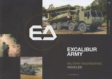 EXCALIBUR ARMY MILITARY ENGINEERING VEHICLES 2018 INCL. TATRA BROCHURE PROSPEKT
