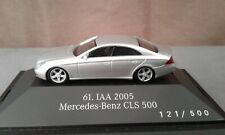 Herpa 1:87 Mercedes SoMo IAA2005 CLS500 C219 iridiumsilber lim. 500 PC Neu OVP
