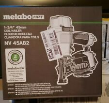 metabo nv45ab2 1-3/4 inch roofing coil nailer
