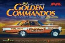 Moebius 1/25 1965 Plymouth Golden Commandos Satellite Drag Race Car MOE1237