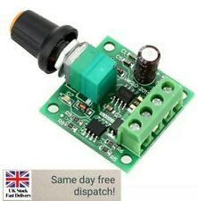 Low Voltage DC PWM Motor Speed Controller Module 1.8V 3V-5V-6V 12V 2A R8L6