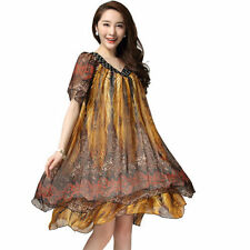 Chiffon Casual Ball Gowns Plus Size Dresses for Women
