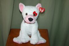 CUPID the White Love DOG - Ty Beanie BUDDY - MWMT - Fast Shipping