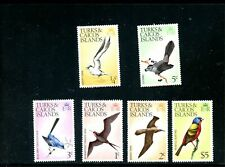 LOT 79728  MINT H STAMPS FROM TURKS AND CALCOS ISLAND BRITISH COLONY : BIRDS