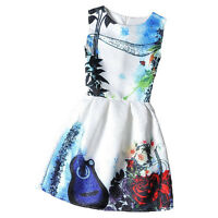 10 Style Women Summer Fashion Casual Sleeveless Floral Mini Party Cocktail Dress