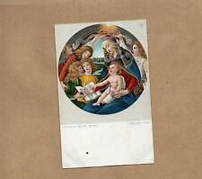 vigin And Holy Child Botticelli Uffzi Misch world galleries series1040 Art b2