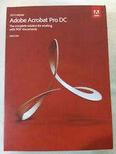 More details for adobe acrobat pro dc 2015 for windows brand new in box