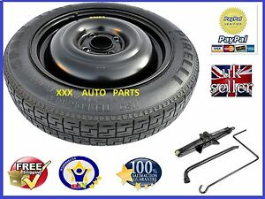 NISSAN NOTE   2008-2021 SPACE SAVER SPARE WHEEL 15 AND JACK KIT