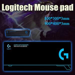 Logitech Gaming Mouse Pad Non-Slip Comfortable Mat Rubber Base Soft Cloth Black
