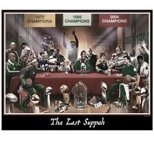 "New England  ""Last Suppah"" 16x20 Photo Print! Tom Brady Patriots Red Sox"