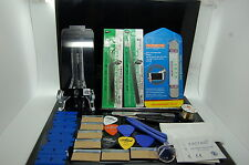 NEW TECHNOLOGY IPHONE 5 BLACK GLASS,FRAME,OCA GLUE PRE-INSTALLED REPAIR KIT
