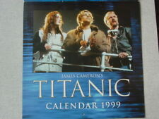 James Cameron's TITANIC CALENDAR 1999 Film Movie Kate Winslet Leonardo DiCaprio