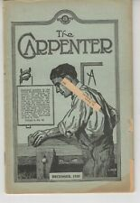 The Carpenter Magazine United Brotherhood Dec. 1930 - Joiners Carpenters