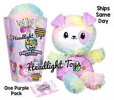 1 Pikmi Pops Surprise PAJAMA LLAMAS & FRIENDS Mystery Scented Plush Purple Pack