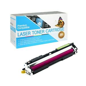 126A Compatible SO Toner Cartridge for HP 100 MFP M175a (Magenta,1 Pack)