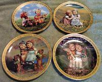 "MI Hummel 8"" Sisters decorative Collectors plates from Danbury Mint-Retired"