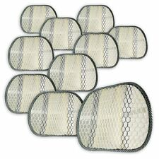 Zone Tech 10x Cool Mesh Hollow Car Chair Seat Beige Back Spine Lumbar Support