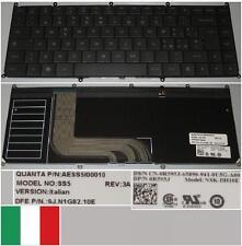 Clavier Qwerty Italien DELL Adamo 13-A101 NSK-DH10E SS5 9J.N1G82.10E 0R595J Noir